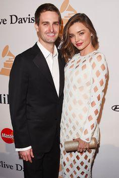 Miranda Kerr and Evan Spiegel Are Married!