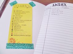 Le setup de mon bullet journal sur mon blog UnBoutDeLife #bulletjournal #bujo #organisation