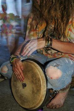 join a drumming circle
