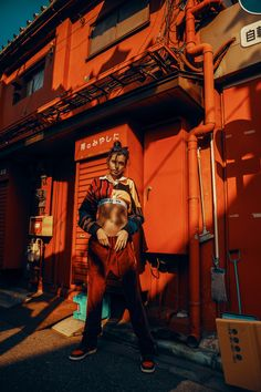 This Stunning Editorial Combines Japanese Architecture With the Hottest Streetwear Brands