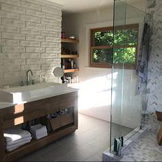 Rustic Vanity - Reclaimed Barn Wood Vanity w/Barn Tin Rustic Vanity, Rustic Bathroom Vanities, Wood Vanity, Barn Bathroom, Master Bathroom, Barn Wood Cabinets, Mudroom Cabinets, Reclaimed Barn Wood, Rustic Barn