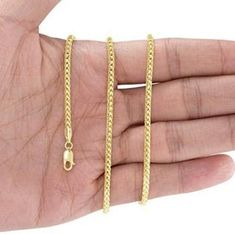 14Kt Gold Round Wheat Chain With Lobster Lock Round Wheat Chain 24 Inches Long