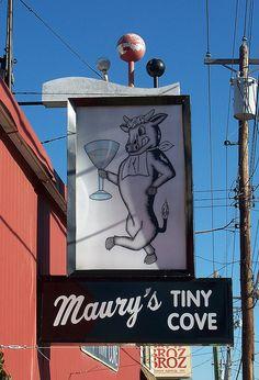 Maury's Tiny Cove on Harrison Avenue in Cheviot. Cincinnati, Ohio