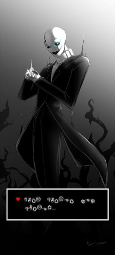 UNDERTALE: W.D. Gaster by Nsio on DeviantArt