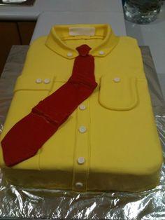 T shirt fondant cake