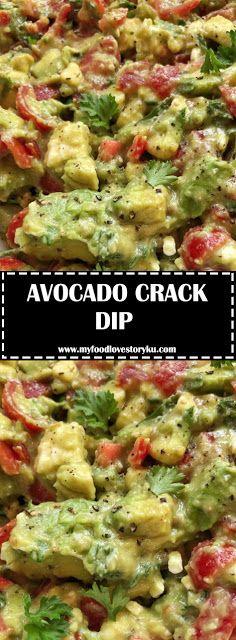 AVOCADO CRACK DIP - #recipes