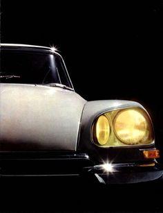 1969 Citroen DS headlight design.