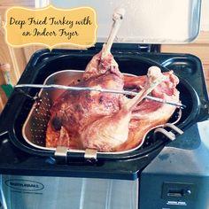 Recipe: Deep Fried Turkey with an Indoor Fryer