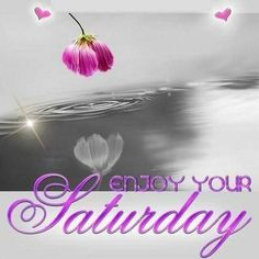 Enjoy your saturday life quote