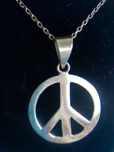 A personal favorite from my Etsy shop https://www.etsy.com/ca/listing/400771781/peace-necklace
