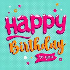 Happy Birthday Greetings Friends, Happy Birthday Wishes Images, Happy Birthday Pictures, Birthday Blessings, Happy 2nd Birthday, Happy Birthday Quotes, Birthday Greeting Cards, Happy Birthday Cards, Birthday Signs