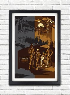The Dark Tower - Gunslingers print