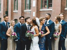 A Beautiful Gold Wedding In Toronto