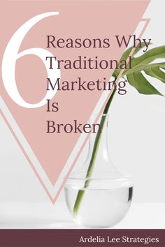 Traditional marketing has long held sway in the business world and has infiltrated the online world. Many bloggers profit from traditional marketing tactics like pop-ups and Google Ads. However, traditional marketing, despite its long reign, is broken. Bloggers and online business owners hoping to make a living online must face that sooner or later. Ultimately, there are 6 very good reasons why traditional marketing is broken. Fortunately, there's one solution that addresses all 6 of these p