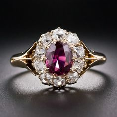 Idée et inspiration Bijoux : ImageDescriptionGemone Diamond offers a distinct collection of Certified Ct Natural ruby diamond ring with SI clarity at an affordable price.Online Buy Now. Ruby Jewelry, Jewelry Rings, Jewelry Accessories, Fine Jewelry, Tiffany Jewelry, Emerald Earrings, Glass Jewelry, Stud Earrings, Antique Rings