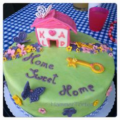 Cake with House