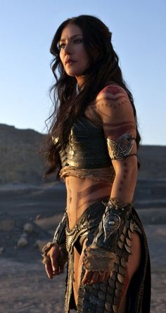 Wow, I wish I was a warrior princess. Inspiration.
