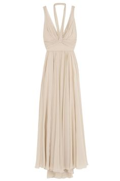 Halter And Strap Gown..or maybe this @Kristina Lester