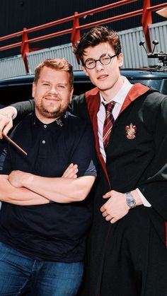 Harry potter, celebrities, shawn mendes, james corden, ►different couples.