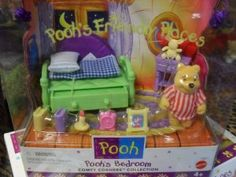 winnie the pooh friendly places - Google Search 90s Childhood, Childhood Memories, 1980s Kids, 90s Toys, 90s Nostalgia, Polly Pocket, Disney And More, Disney Winnie The Pooh, Disney Toys