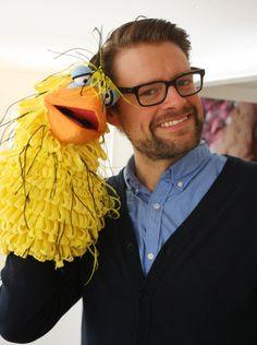 Max Giermann und Birdy www.figurenschneider.de