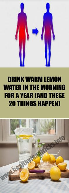 In the morning, the tissues in our body are dehydrated and require water in order to eliminate the toxins and rejuvenate the cells. So, lemon water can help you to regulate proper function of kidney and digestive tract, and eliminate intestinal toxins. 20 Reasons To Start Your Day With Water and Lemon 1. Lemon …