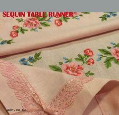 Sequin Table Runner