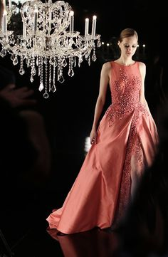 Elie Saab | via Tumblr on We Heart It - http://weheartit.com/entry/148954999.  Love the color!