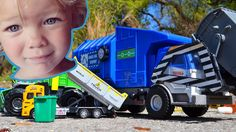Garbage Truck Videos For Children l Time To Pick Up The TRASH l Garbage ...