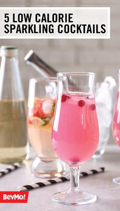 Give your guests a refreshing alternative to classic cocktail recipes by adding a splash of sparkling water! Check out these 5 Low-Calorie Sparkling Water Cocktail Ideas from BevMo!  to get seasonal inspiration for your next celebration.