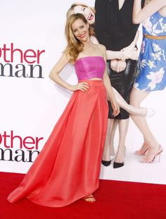 Leslie Mannat The Other Woman Premiere in Westwood