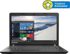 Lenovo IdeaPad 100-14IBD 80RK002UIH Core i3 (5th Gen) - (4 GB/500 GB HDD/Windows 10) Notebook Rs.29990  Price in India - Buy Lenovo IdeaPad 100-14IBD 80RK002UIH Core i3 (5th Gen) - (4 GB/500 GB HDD/Windows 10) Notebook Black Online - Lenovo : Flipkart.com