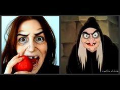 Maquillage d'Halloween : sorcière (Blanche-Neige)