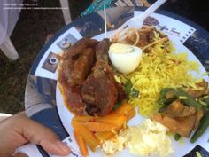 Food I had in the Zambian Kitchen Party