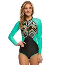Body Glove Breathe Women's Maka Surface Long Sleeve One Piece Swimsuit