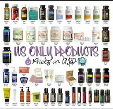 US only DoTerra products