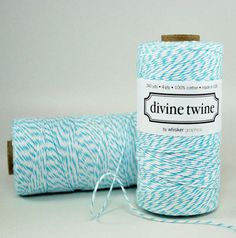 Blue twine