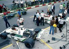"""Alan Stanley Jones (AUS) (Albilad-Saudia Racing Team), Williams FW07 - Ford-Cosworth DFV 3.0 V8 Gianclaudio Giuseppe """"Clay"""" Regazzoni (SUI) (Albilad-Saudia Racing Team), Williams FW07 - Ford-Cosworth DFV 3.0 V8  1979"""