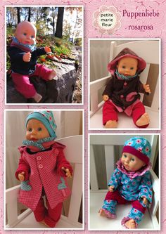Bitty Baby Clothes, Doll Clothes, Doll Toys, Baby Dolls, Sewing Tutorials, Sewing Projects, Doll Wardrobe, Sewing Dolls, Baby Born