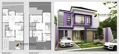 gorgeous home design modern minimalist House Layout Plans, Dream House Plans, House Layouts, House Floor Plans, Modern Family House, Modern House Design, Home Design Plans, Plan Design, Storage Building Plans