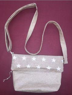 Tuto couture gratuit du sac en bandoulière réglable entièrement réversible