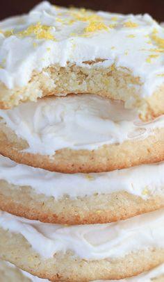 Super Soft Lemon Sugar Cookies