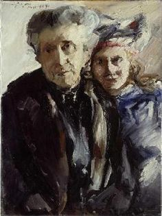 bofransson: Grandmother and Granddaughter Lovis Corinth - 1919 Германия. Lovis Corinth July 1858 – 17 July was a German artist and writer whose mature work as a painter and printmaker realized a synthesis of impressionism and expressionism. Mother And Child Reunion, Post Impressionism, Art Database, Oil Painting Reproductions, Sculpture, Art And Architecture, Figurative Art, Les Oeuvres, Fine Art