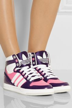 detailed pictures 3386a f0e6e adidas Originals - Court Attitude leather sneakers