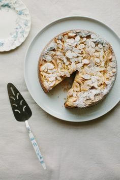 my darling lemon thyme: gluten + dairy-free spiced pear and almond cake recipe