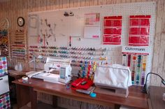 sewing room ideas | sewing-room-embroidery-machines