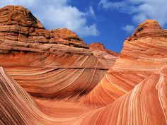 The Wave of Coyote Buttes North, Vermilion Cliffs National Monument, Arizona/Utah Border