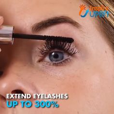 Silk Fiber Mascara 😍 Our Silk Fiber Mascara will increase the length, thickness and volume of your lashes at up to of their natural state. You'll get long, luscious lashes without having to apply false eyelashes or pay for costly lash ext Mascara 3d, Fiber Mascara, Beauty Skin, Beauty Makeup, Hair Beauty, Beauty Secrets, Beauty Hacks, Applying False Eyelashes, Makeup Foundation