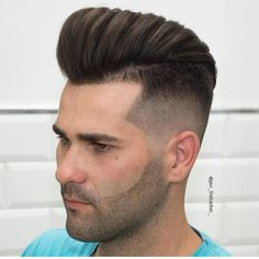 Wake Up and Smell the Barbicide Medium Skin Fade, Undercut Pompadour, Dapper, Hair Cuts, Hair Styles, Instagram Posts, Vintage, Boys Fade Haircut, Beards