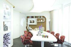 Elegant Modern Slavish Penthouse in Saint Petersburg: Cool Refined Russian Penthouse Dining Room Modern Elegant Design